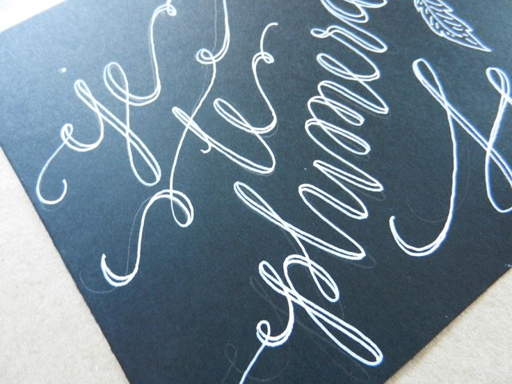Best images about faux calligraphy on pinterest fonts