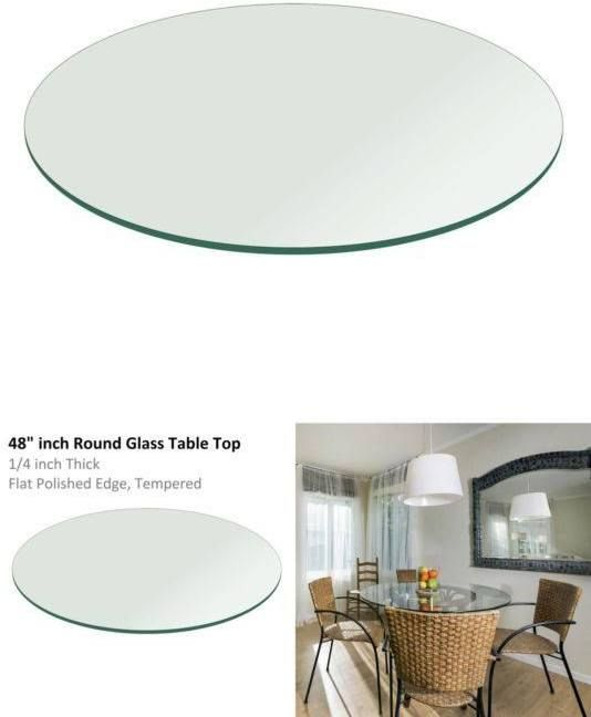 Round Glass Table Top 48 Inches Round Glass Table Top Glass Top Table Round Glass Table