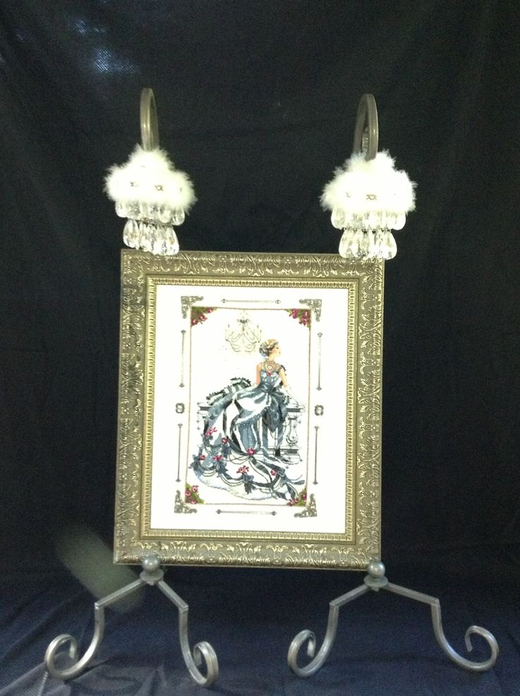8 best Counted cross stitch in free standing frames images on ...