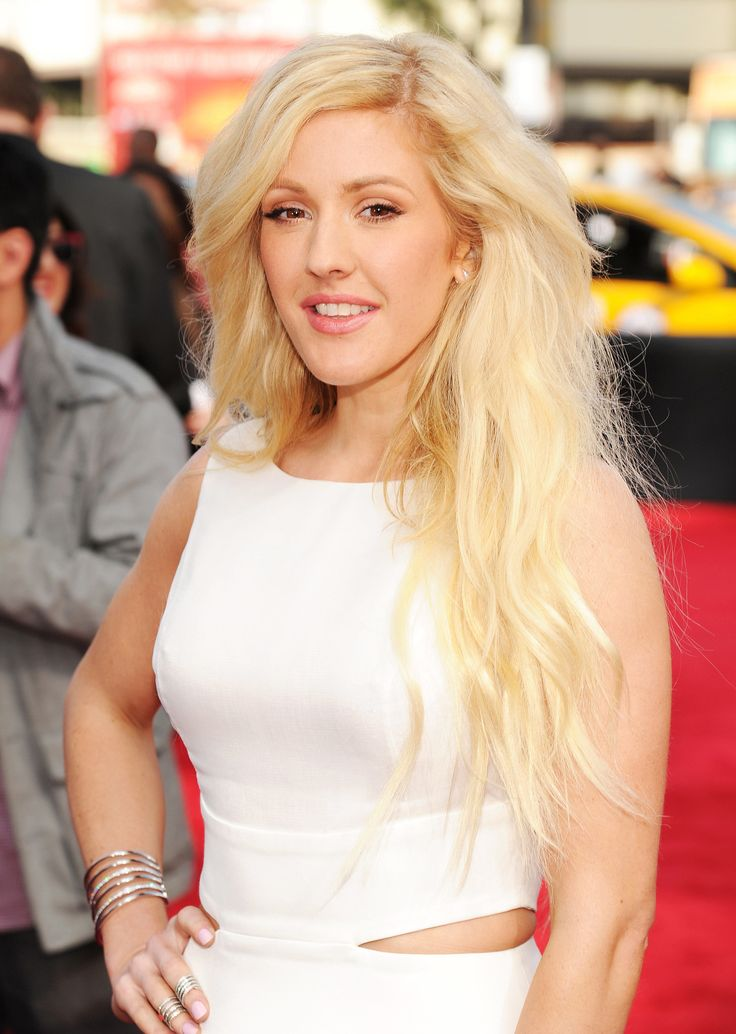 Ellie Goulding's tousled, textured waves at the MTV Movie awards were the epitome of rockstar style.