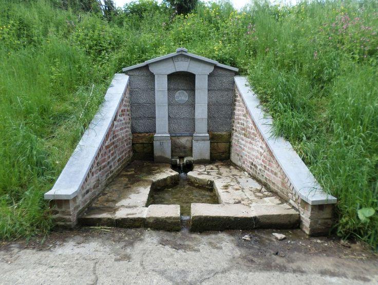 La fontaine de Lorgnies à Le Quesnoy
