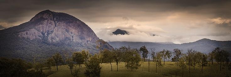 Mt Edward, near Aratula, SE Queensland