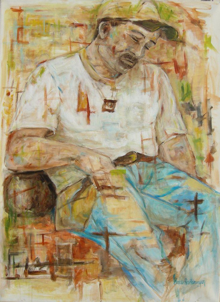 Fem minutter (five minutes) | painting - Amalie Ree