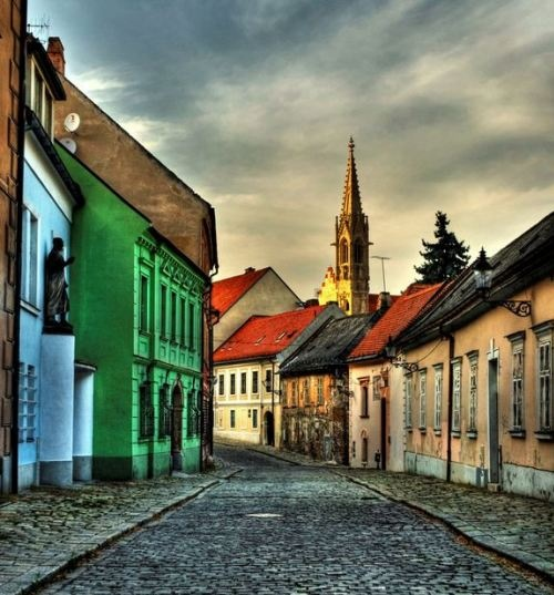 Bratislava – Quiet streets of the Old town  Photo by Forastico de Forasticis