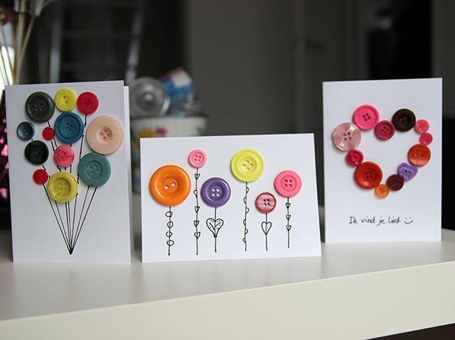Kaarten maken met knopen – DIY | Lisanneleeft.nl | Bloglovin'