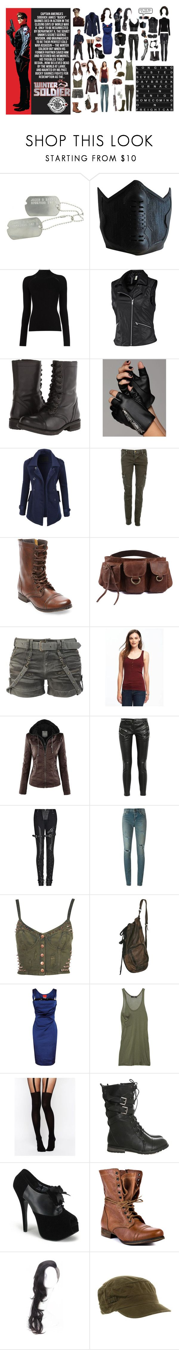 8459 Best Clothing Images On Pinterest Bucky Barnes Marvel Manzone Mens Top Broonze 1 Maroon Xl Winter Solider By Artsysex Liked Polyvore Featuring Sebastian Professional Misha Nonoo