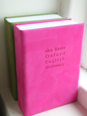 Pink dictionary - Yes please!