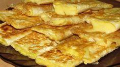 Лаваш с сыром на сковороде