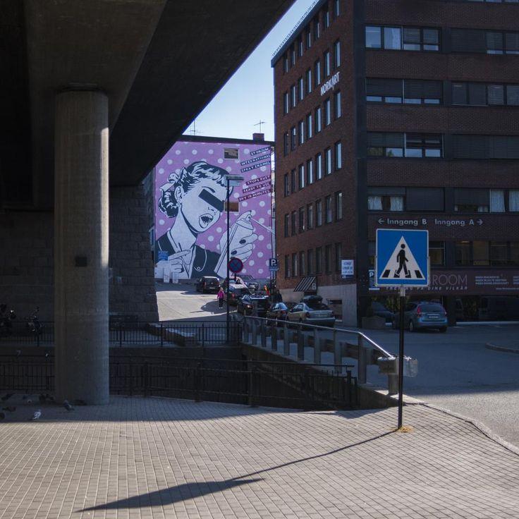 Street Art by Ole Morten Eyra