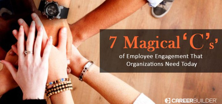 7 Magical 'C's' of Employee Engagement