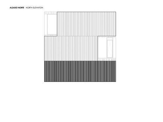 Casa Concreto,North elevation
