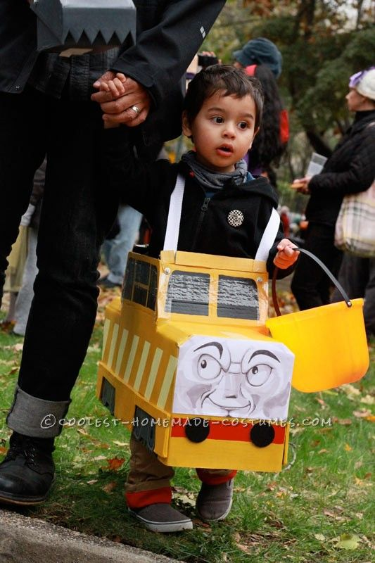 Cool DIY Father and Son Costume: Cranky the Crane and Diesel 10 ...This website is the Pinterest of birthday cakes