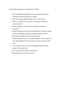 best the devil and tom walker images literary  discussion questions document for teachers the devil and tom walker