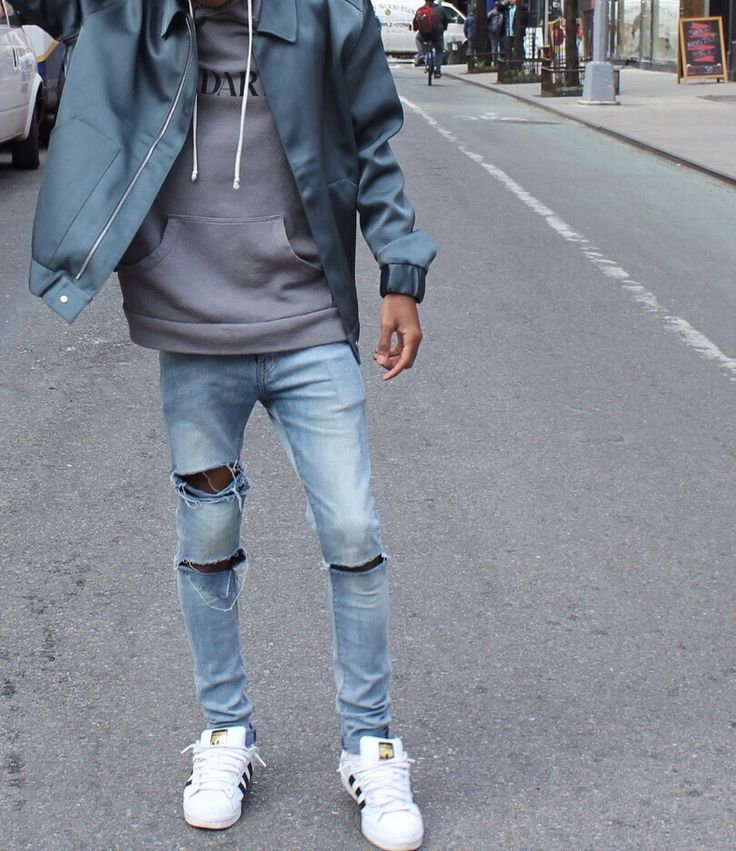 Like the jacket and hoodie, don't like male skinny jeans