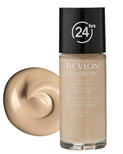 The Best Foundations for Oily Skin - Revlon Colorstay Foundation - from InStyle.com