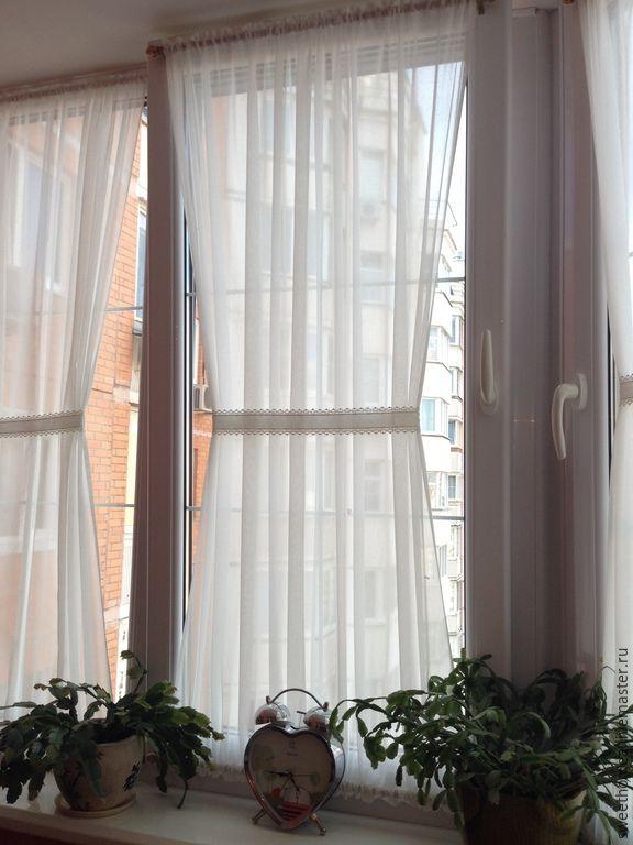 """Купить Шторы """"кафе"""" - белый, шторы-кафе, шторы для спальни, шторы для гостиной, шторы на заказ"""