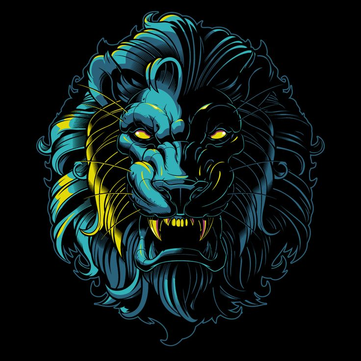 Vector lion - vector illustration - sweyda - vector.jpg