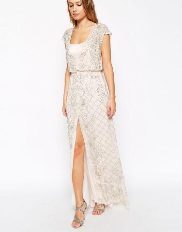 Aura maxi robe ornementée Needle & Thread - ClicknDress