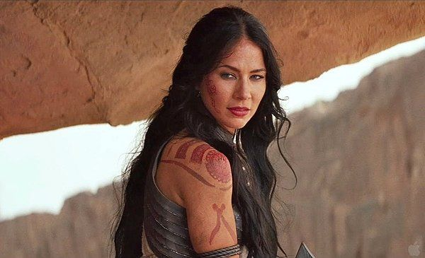 This is exactly how I've always imagined my tattoos would look! Just like her in John Carter