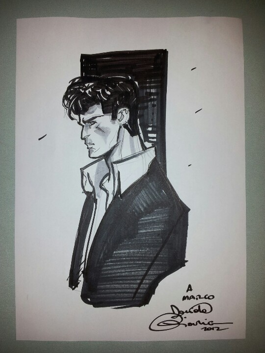 Dylan Dog, by Davide Gianfelice