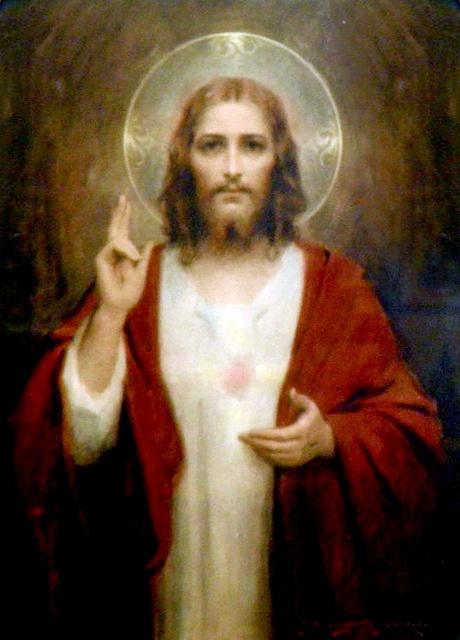Sacred Heart of Jesus by C. Bosseron Chambers