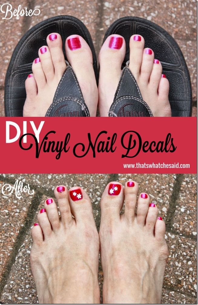 Best Images About Silhouette Stuff On Pinterest Vinyls - How to make vinyl nail decals with cricut