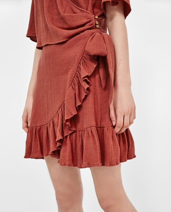 De Textura Falda 2 Imagen Cruzada Y Modas Zara Skirts Zara S5q54Aw