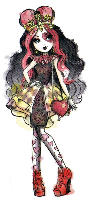 .lizzie hearts: #eah #everafterhigh