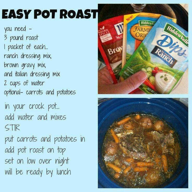 Easy pot roast | Recipes | Pinterest