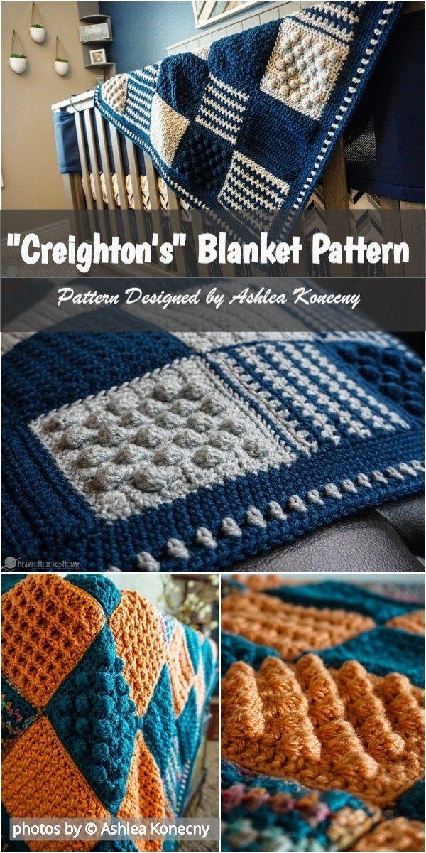 Crochet Creightons Blanket Pattern Idea Crochet Crochetblanket