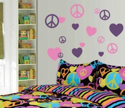 Fantasy deco vinilos decorativos cuarto de las chicas for Vinilos para nenas