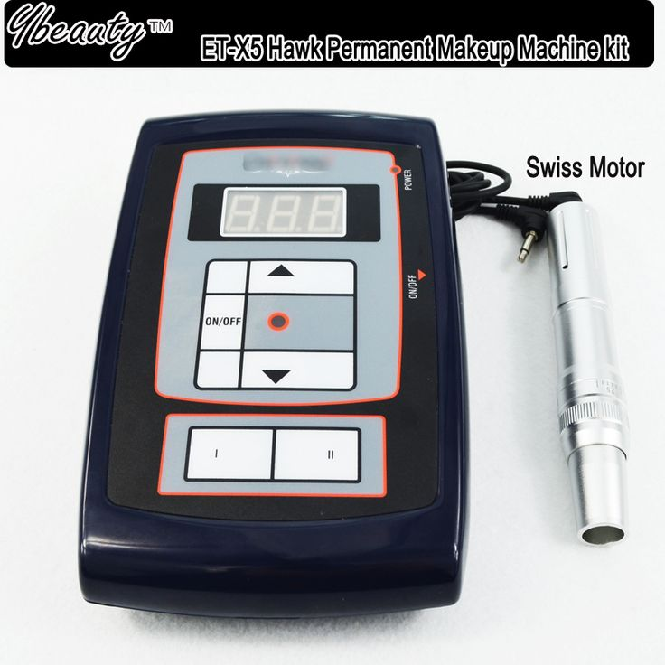 Hawk Style X5 Swiss Motor Permanent Makeup Machine pen for Eyebrow Make up Kits &Lips Rotary Tattoo Machine Kit Free Shipping