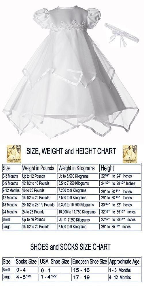 4a56813d6e Lauren Madison Baby-Girls Newborn Handkerchief Skirt Dress Gown Outfit