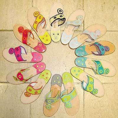 Jack Rogers Tropical Color Sandals