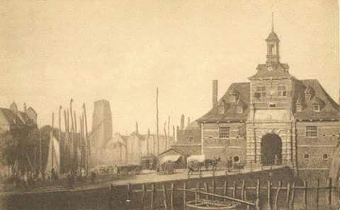 De oude Ooster hoofdpoort (eind 18e eeuw)