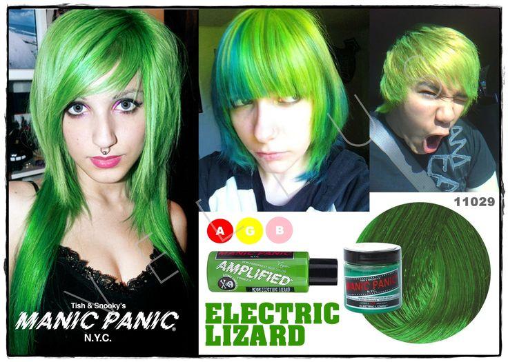 Manic Panic Classic Electric Lizard  Vellus Hair Studio 83A Tanjong Pagar Road S(088504) Tel: 62246566