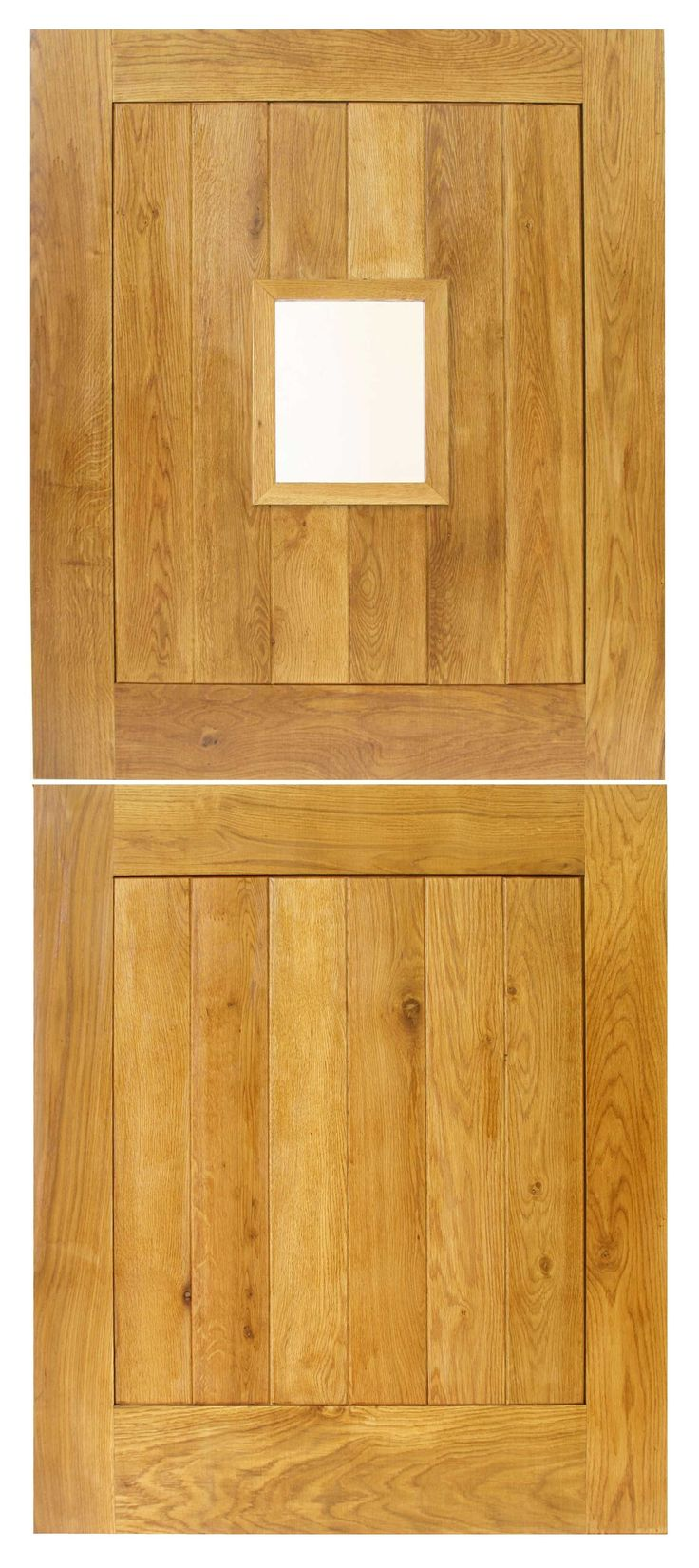 External Cottage Stable Solid Oak Door
