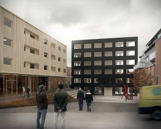 future city center competition . floda / Johannes Norlander Arkitektur