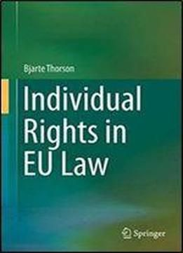 Individual Rights In Eu Law free ebook