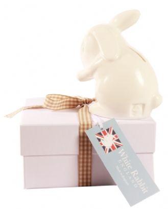 Rabbit moneybox | childrens money box | christening gift