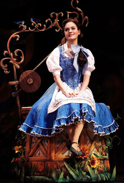 Play Belle in a musical production of Beauty and the Beast