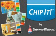 Chip it!  Seriously, I love this new tool from Sherwin Williams - just copy a URL into the site, and they will paint chip your pictures