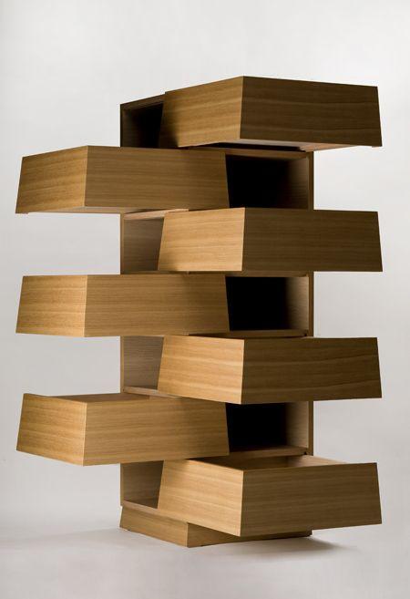 Creative Wood drawers #comodas #cnc http//cnc.gallery/  Comodas   Pinterest  Creative, Drawers and Furniture