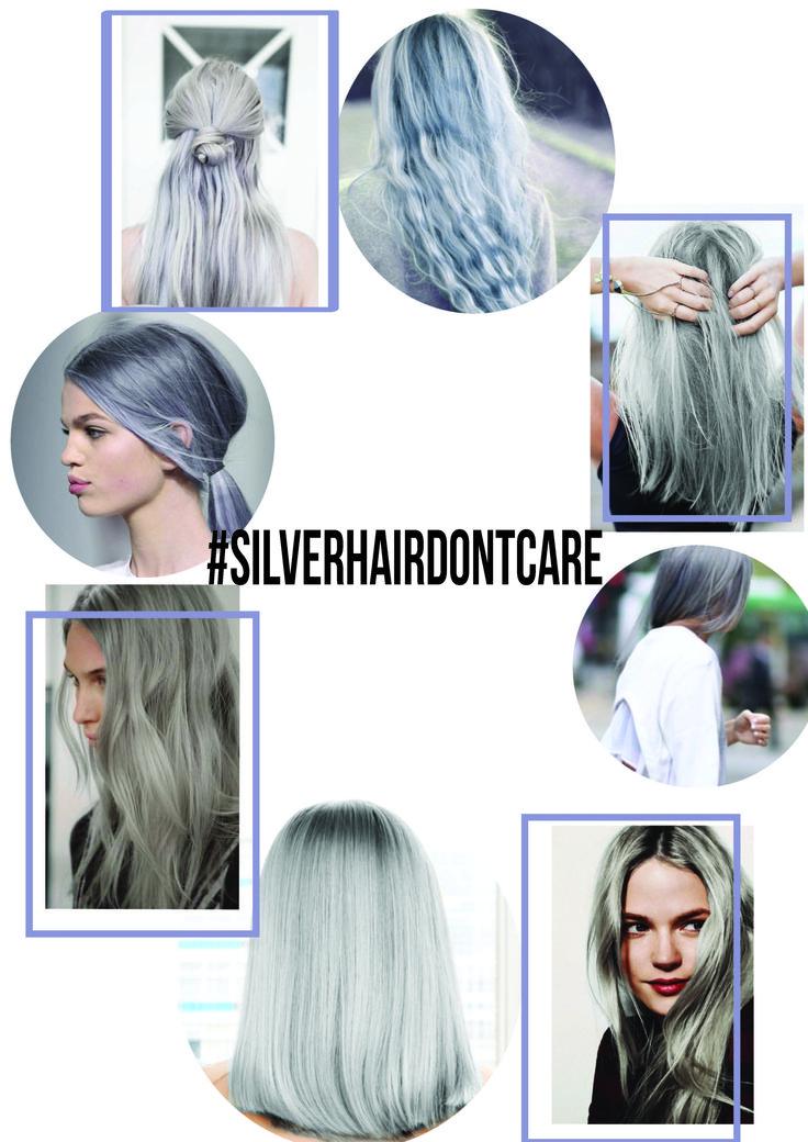 #greyhair #silverhair #hair #hairinspo