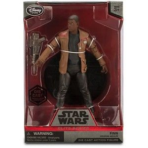 "Finn Elite Series Die Cast Action Figure – 6 1/2"" – Star Wars: The Force Awakens"