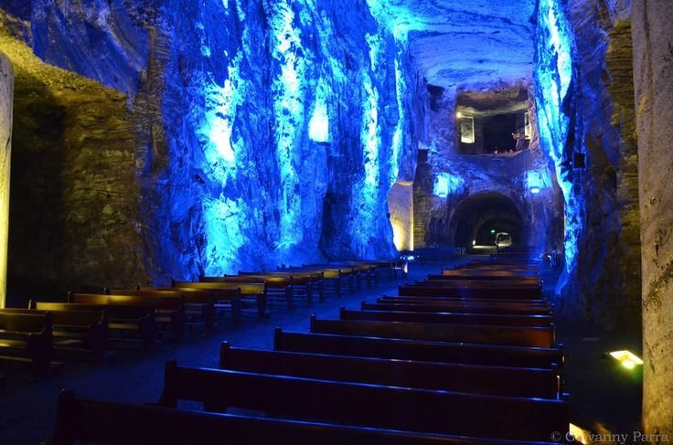 Catedral de Sal Zipaquirá - Salt Cathedral by Giovanny Parra, via 500px