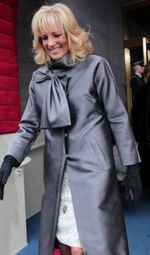 Jill Biden wears Lila Rose at Inauguration (looked fantastic during parade!)