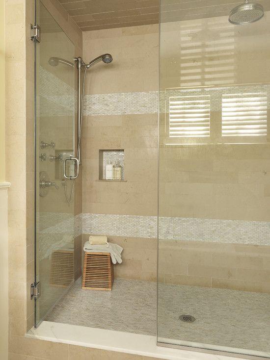 Best Small Bathroom Tiles Images On Pinterest Small Bathroom - Glass accent tiles for bathroom for bathroom decor ideas