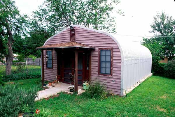 Quonset hut homes plans and designs metal frame house for Steel frame cabin