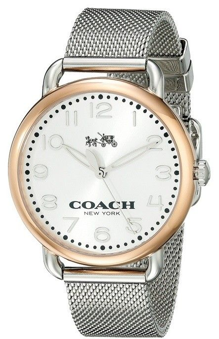 Coach Mujer 14502266 N/a Reloj Titanio Plata